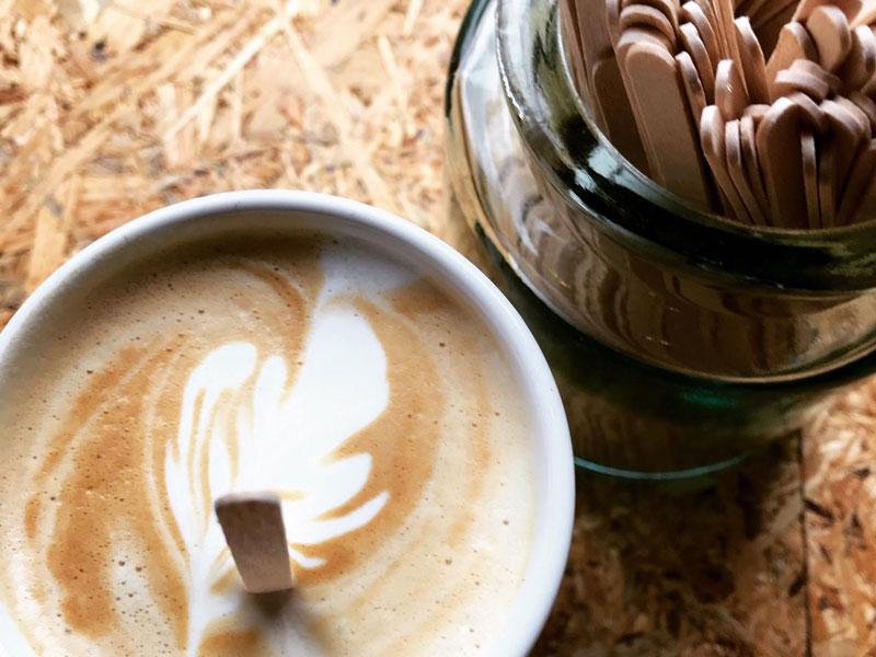 Romige cappuccino's