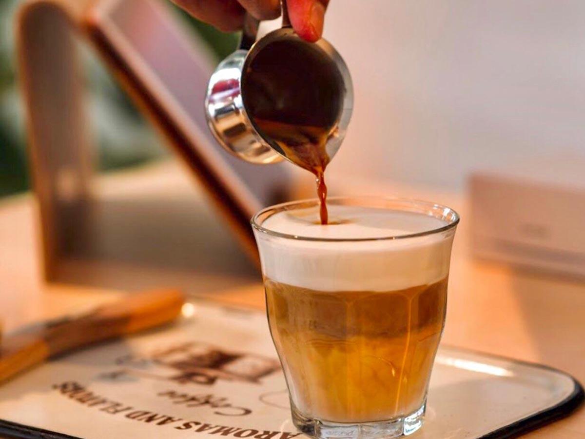 Heerlijke, verse koffie